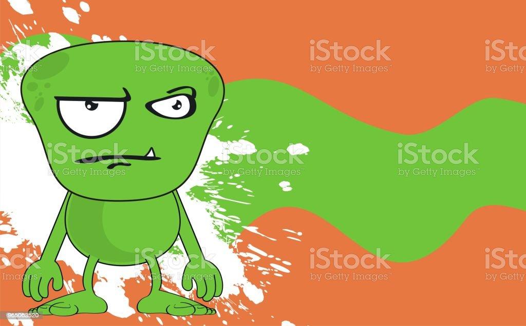 funny grumpy monster cartoon expression background funny grumpy monster cartoon expression background - stockowe grafiki wektorowe i więcej obrazów ameryka Łacińska royalty-free