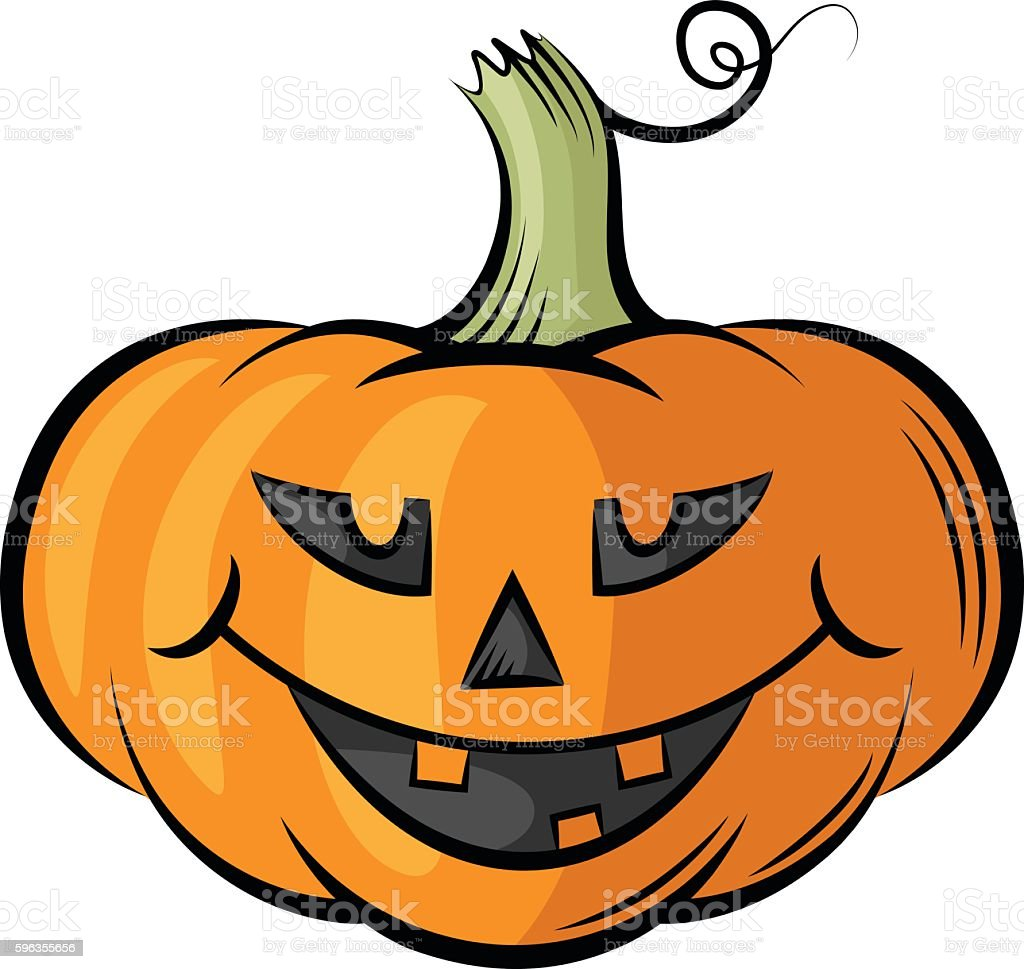 Funny Halloween Pumpkins contour color royalty-free funny halloween pumpkins contour color stock vector art & more images of anthropomorphic smiley face