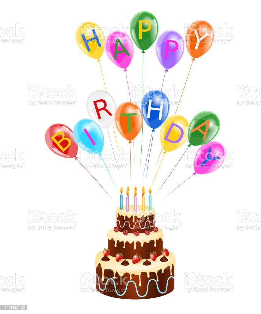 Peachy Funny Happy Birthday Greeting Card Stock Illustration Download Funny Birthday Cards Online Alyptdamsfinfo