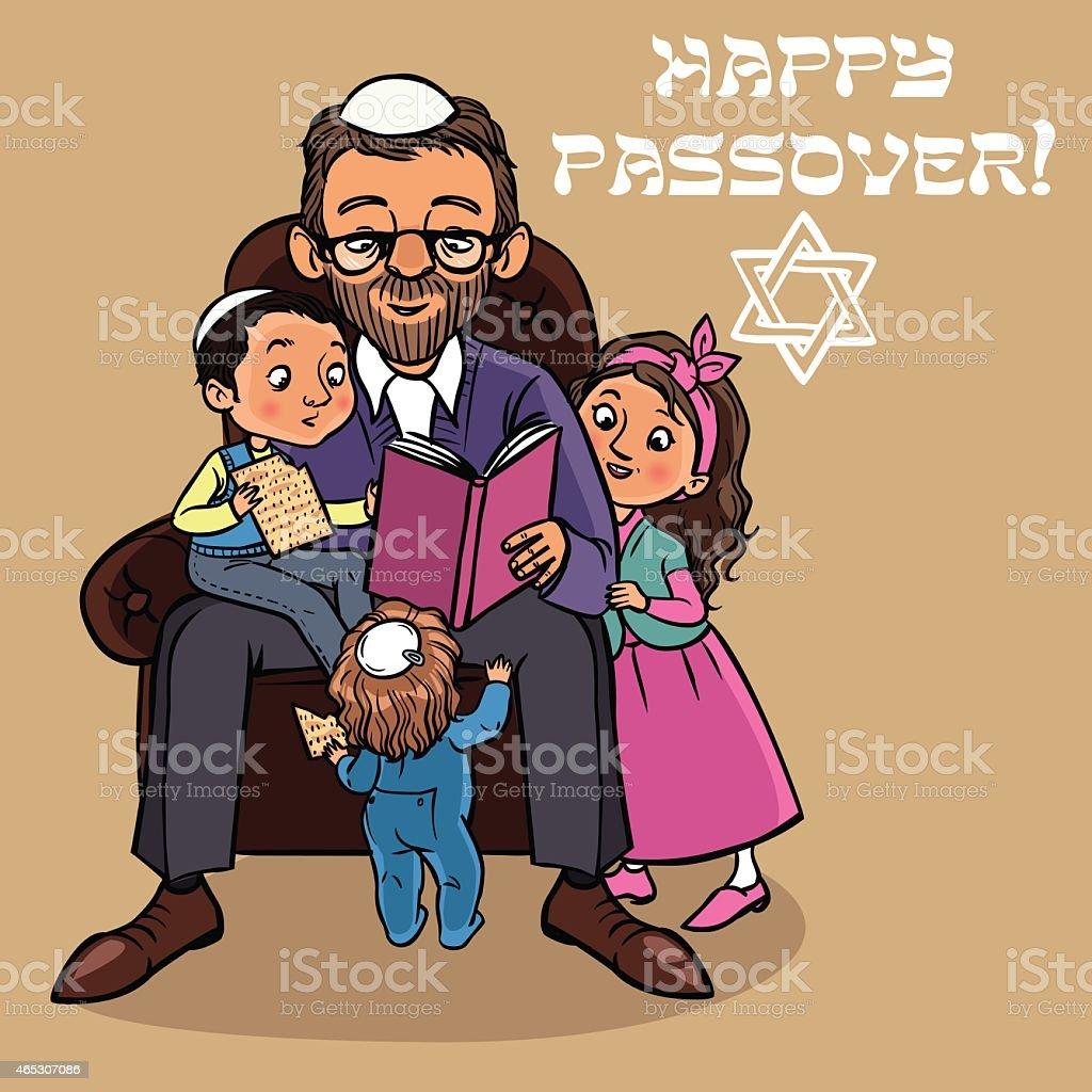 Funny happy jewish passover greeting card vector illustration stock funny happy jewish passover greeting card vector illustration royalty free funny happy jewish passover m4hsunfo