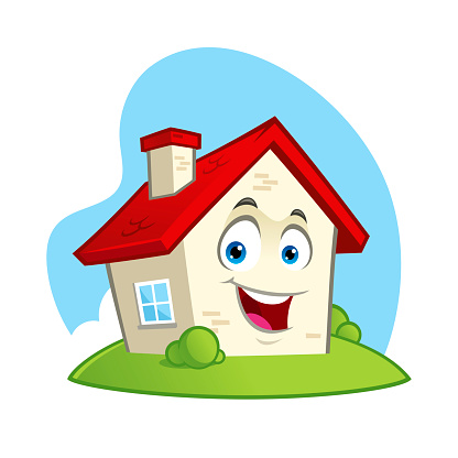 Funny house character