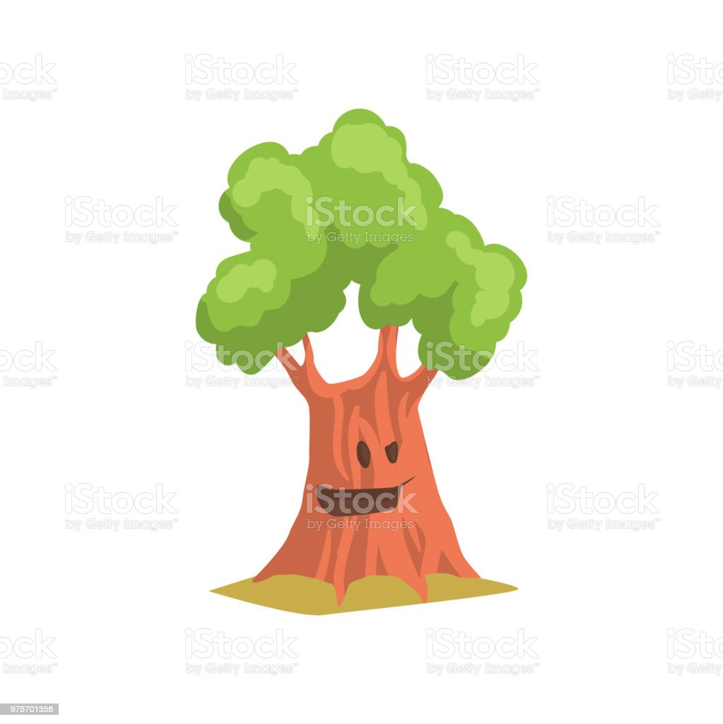Funny Humanized Tree With Cheerful Face Expression Cartoon Character Of Green Forest Or Park Plant Flat Vector Design Stock Illustration Download Image Now Istock Create cartoons and caricatures from your photos with me, thecartoonist! funny humanized tree with cheerful face expression cartoon character of green forest or park plant flat vector design stock illustration download image now istock