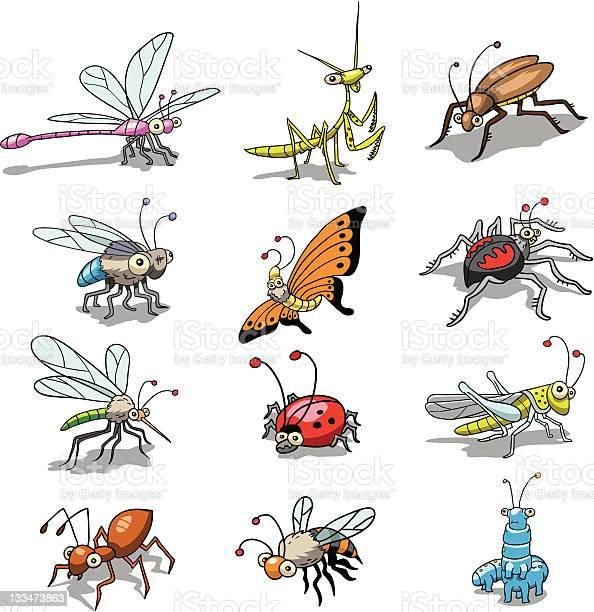 Funny insects vector id133473863?b=1&k=6&m=133473863&s=612x612&h=zht44440vt3mh6m zd9ed5fmyipecaeqvpxump ygwi=