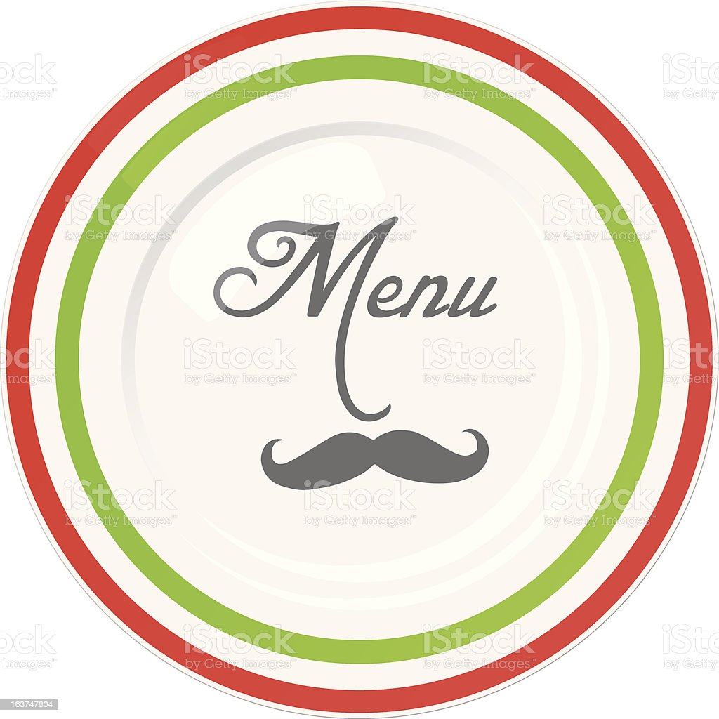 funny italian restaurant menu cover design template stock vector art
