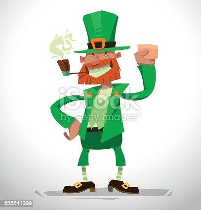 istock Duende irlandés chica en el cilindro 505564133 istock Duende ...