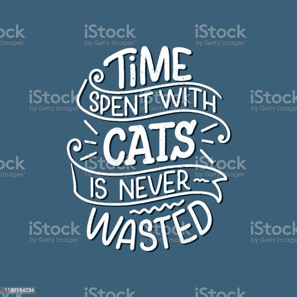 Funny lettering quote about cats for print in hand drawn style vector id1186184234?b=1&k=6&m=1186184234&s=612x612&h=fmk2smavbr nwwlqfobipkrrep8xbeauxrycm5wqlp8=