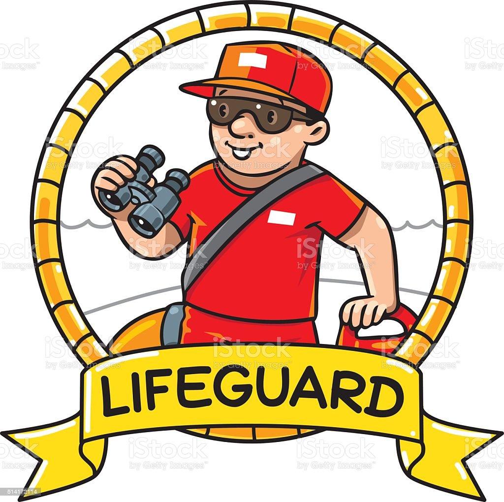royalty free lifeguard cap clip art vector images illustrations rh istockphoto com lifeguard clipart black and white lifeguard clipart black and white