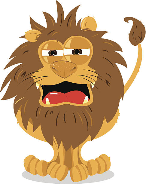 Best Tired Lion Illustrations, Royalty-Free Vector ...