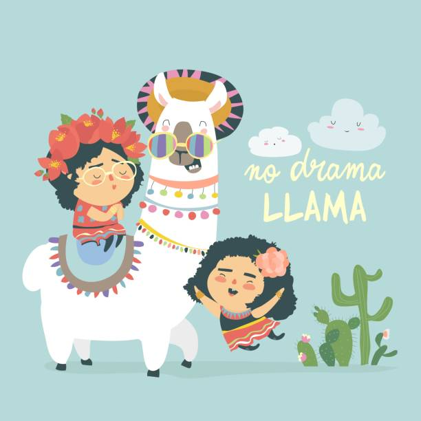 Royalty Free Cartoon Of Mexican Girl Costume Clip Art ...