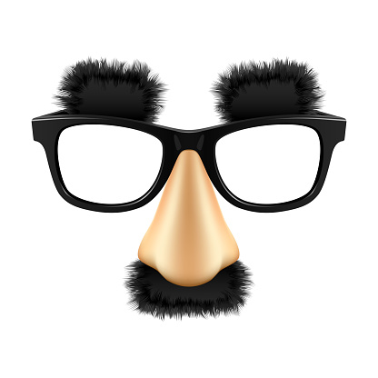 Funny mask. Vector.