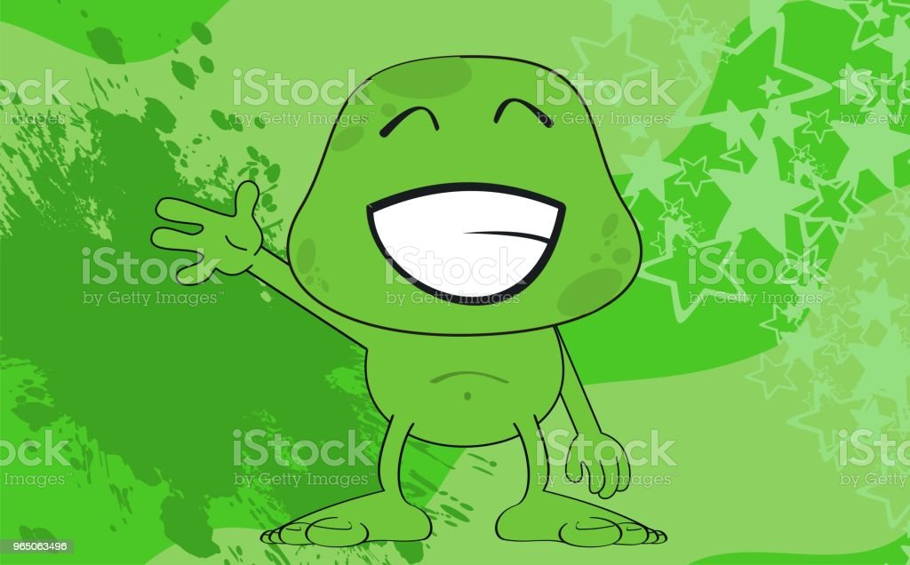 funny monster cartoon expression background royalty-free funny monster cartoon expression background stock vector art & more images of caricature