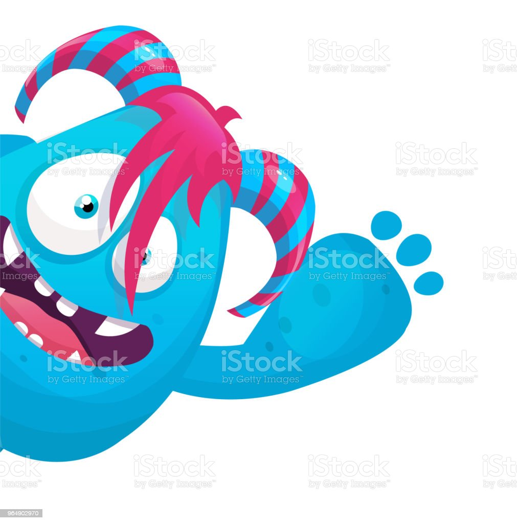 funny monster royalty-free funny monster stock vector art & more images of alien