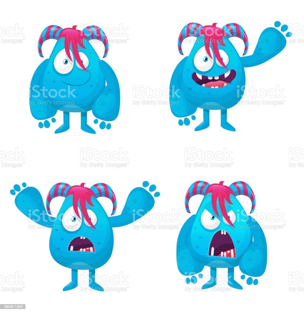 funny monster royalty-free funny monster stock vector art & more images of alien