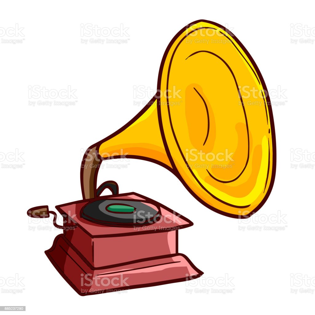 funny old gramophone stock illustration download image now istock funny old gramophone stock illustration download image now istock