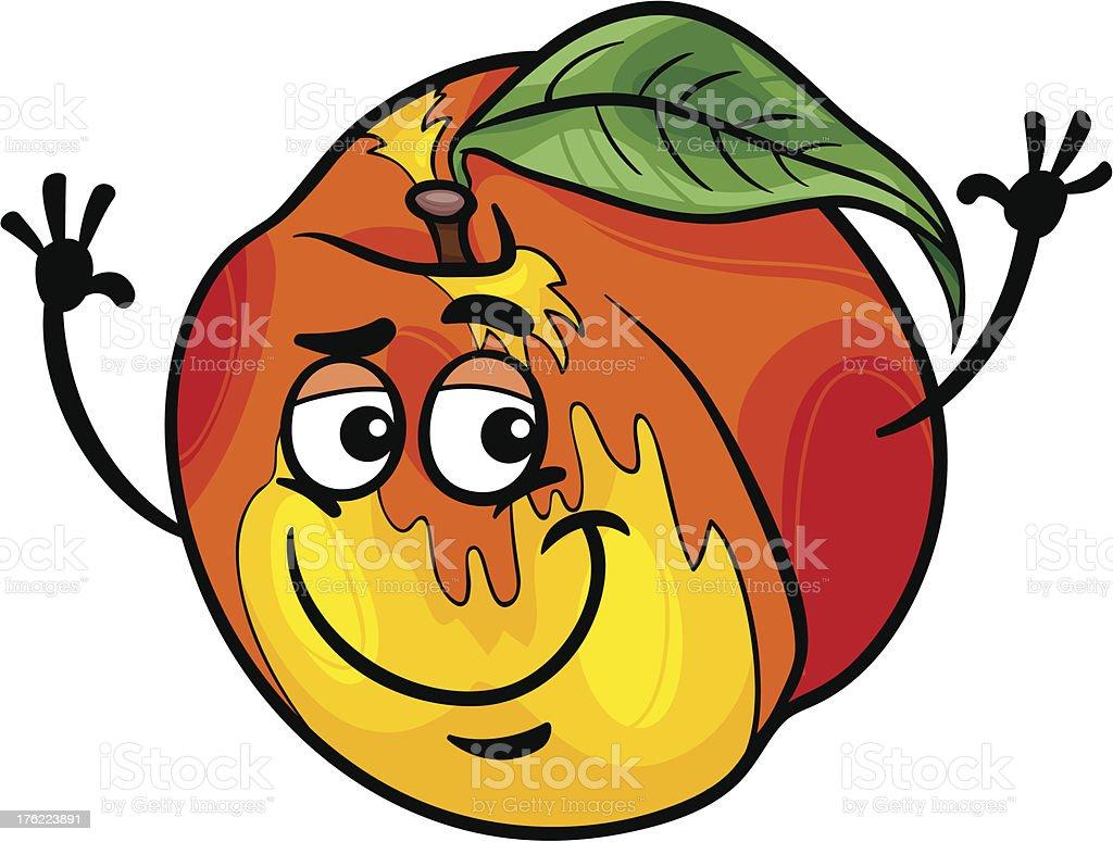 Ilustración de Frutas Ilustración De Dibujos Animados Divertidos ...