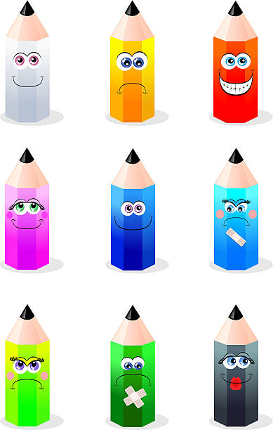 Видео, картинка веселый карандаш из серии веселые человечки
