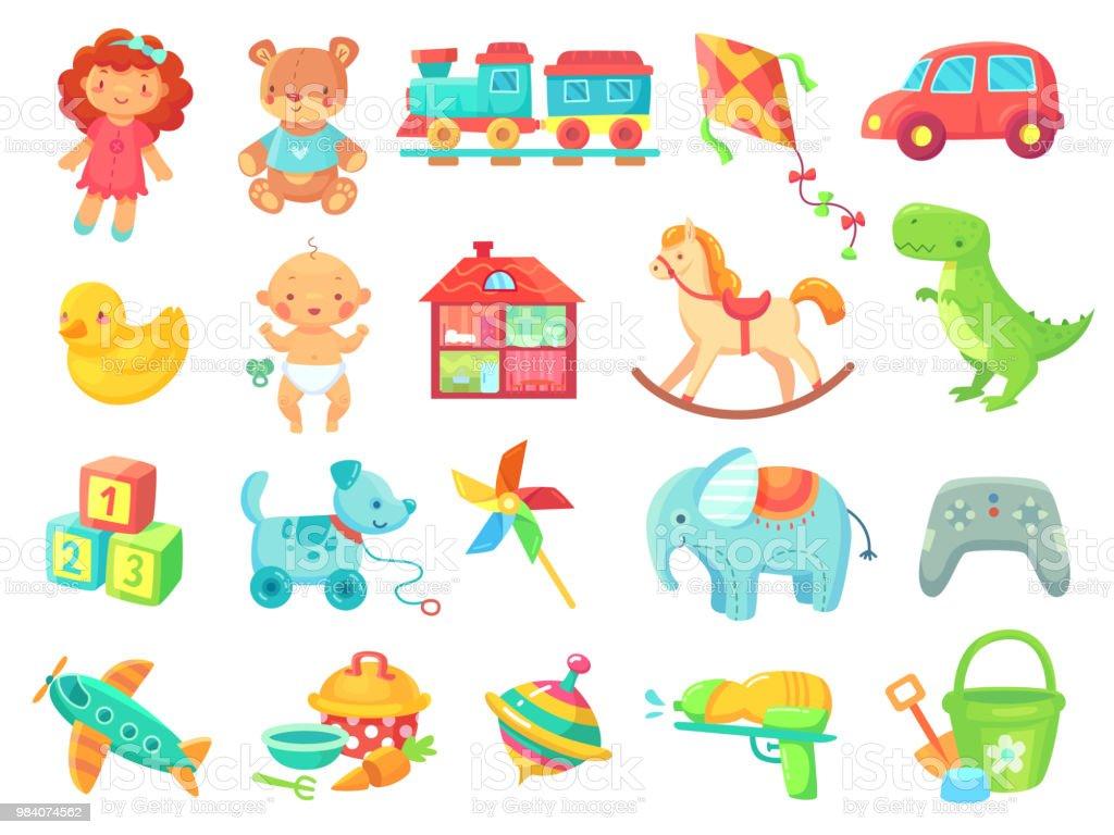 Animaux En Plastique Jouet ours en peluche drôle fille poupée jouet voiture jouets en