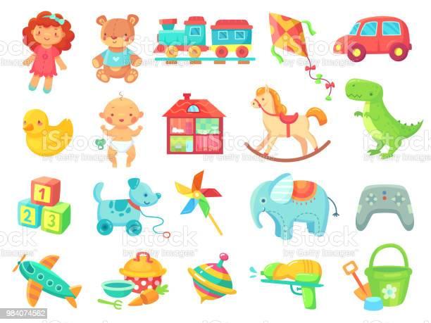 Funny plush bear girl doll toy car colorful plastic toys objects vector id984074562?b=1&k=6&m=984074562&s=612x612&h= fdkmrpw4habotkc6xnxeqk5q2z3fr0sp5ilcjb1a3s=