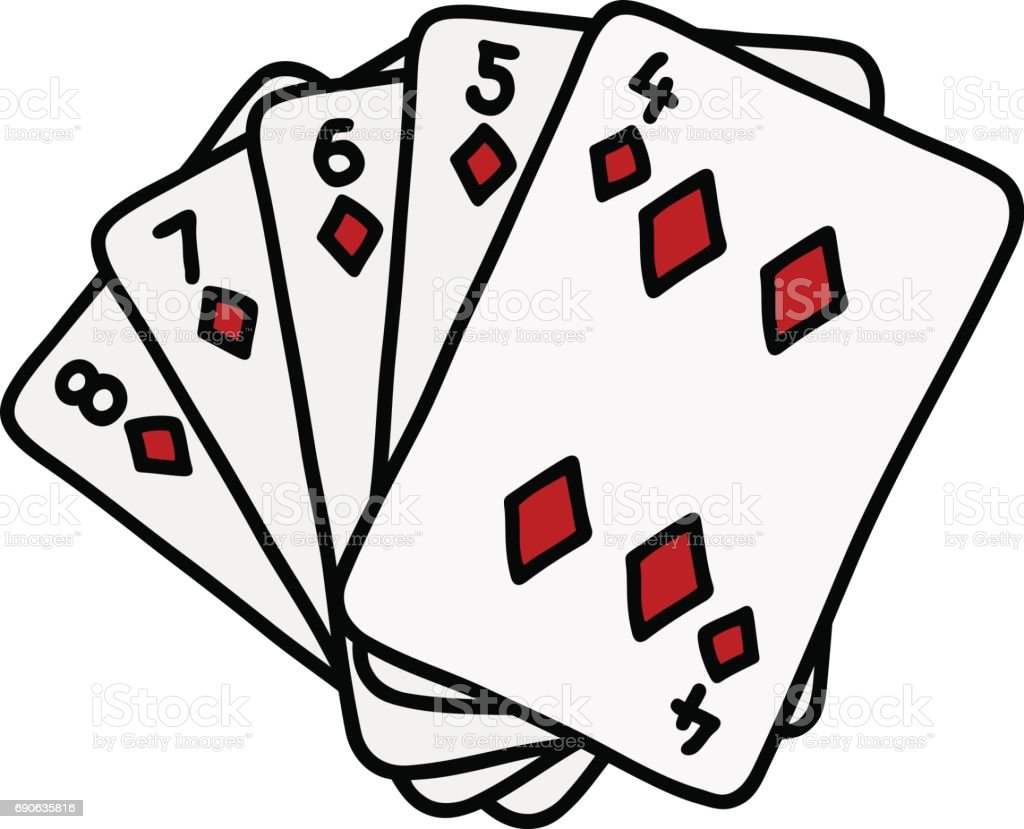 funny poker cards stock vector art more images of ace 690635816 rh istockphoto com playing cards vector art playing cards vector art free download