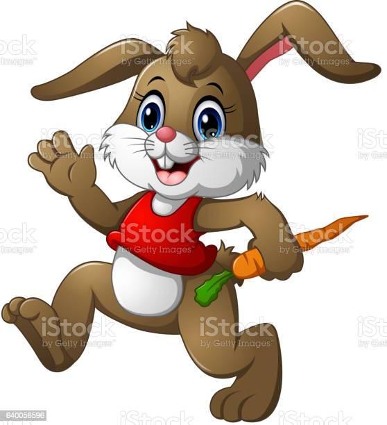 Funny rabbit cartoon holding a carrot vector id640056596?b=1&k=6&m=640056596&s=612x612&h=txhtertee4gvy6ejwmbkplppcdvs90 fhrs dykoe9g=