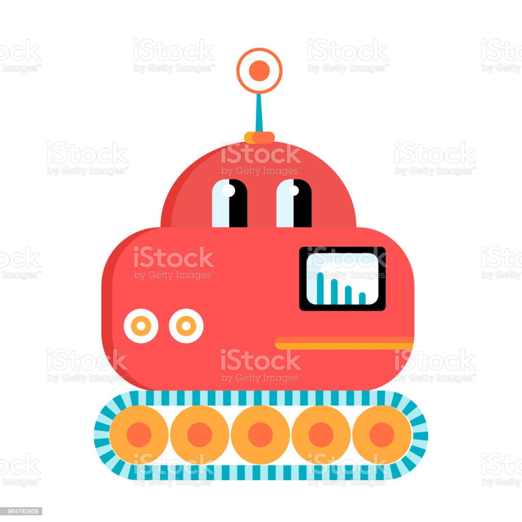 Funny red lunar rover robot royalty-free funny red lunar rover robot stock vector art & more images of adventure