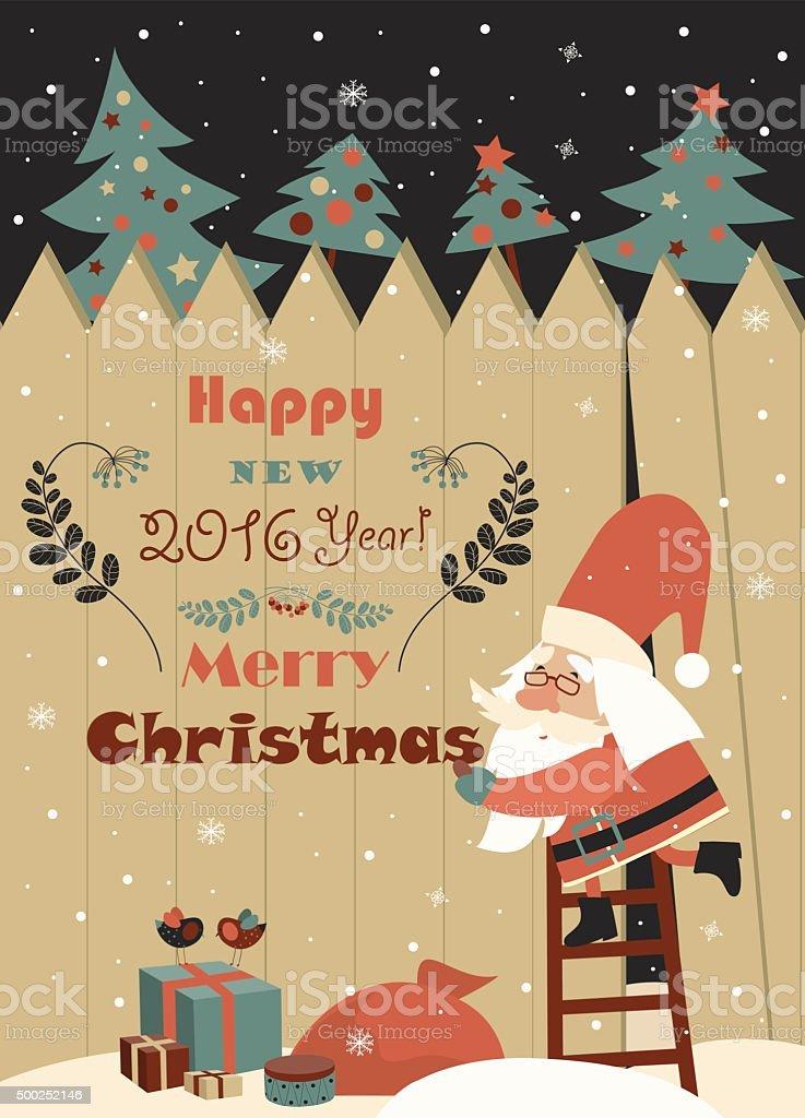 Frohe Weihnachten Lustige Bilder.Lustige Weihnachtsmann Wir Wunschen Ihnen Frohe Weihnachten