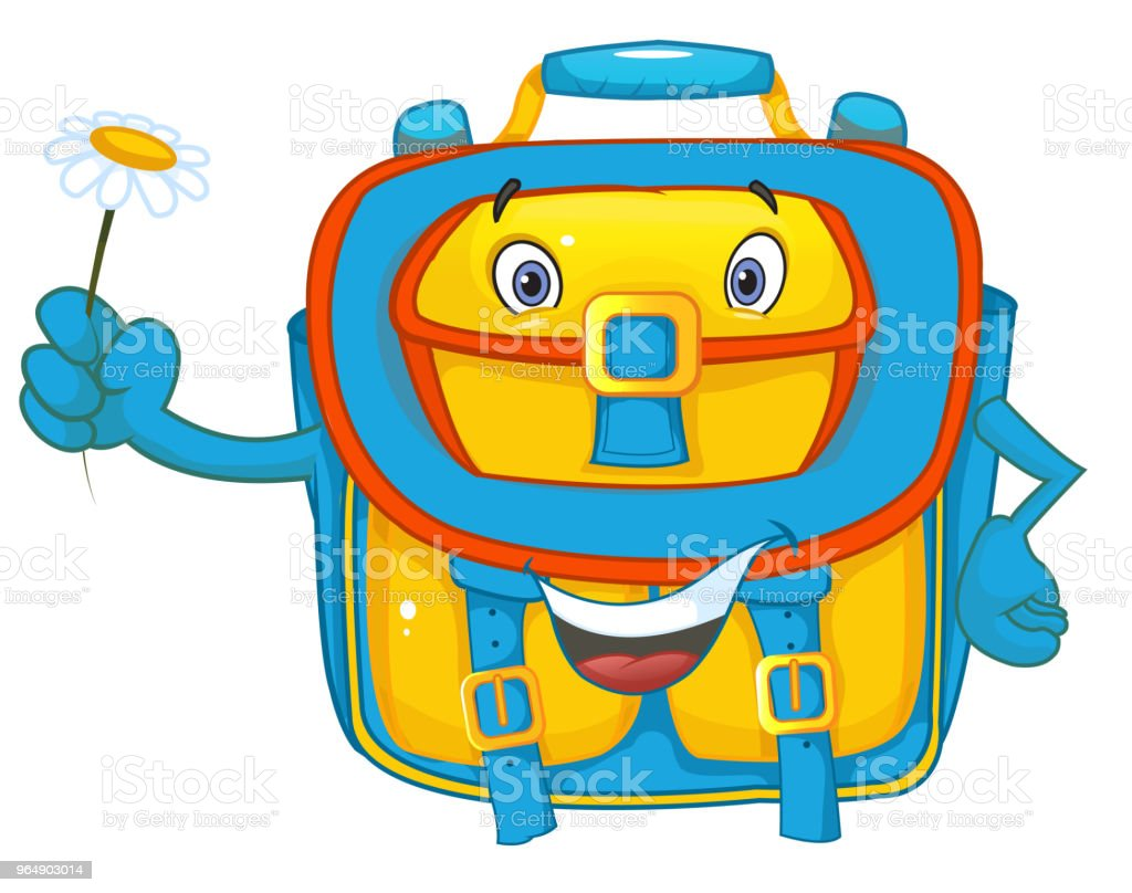 funny school bag royalty-free funny school bag stock vector art & more images of back