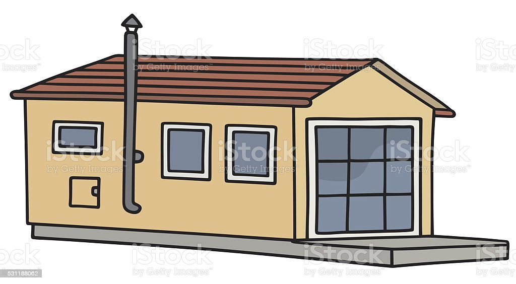 Funny Small House Stock Illustration - Download Image Now ... on heavy equipment by owner, used mobile home sale owner, mobile home parks sale owner, apartments for rent by owner, mobile homes for rent,