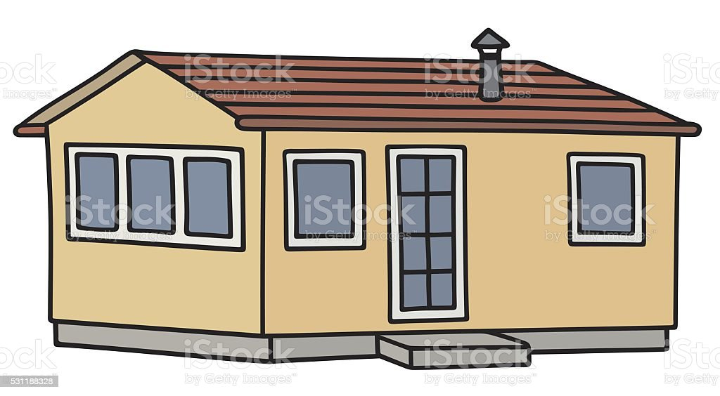 royalty free trailer homes clip art vector images illustrations rh istockphoto com home clipart black and white houses clip art free