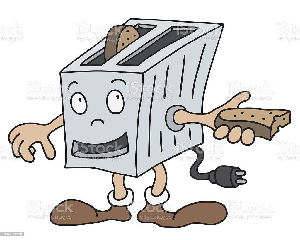 Lustige Toaster