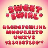 Funny sweet font