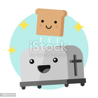 Animated Toaster Clipart   Free Images at Clker.com - vector clip art  online, royalty free & public domain