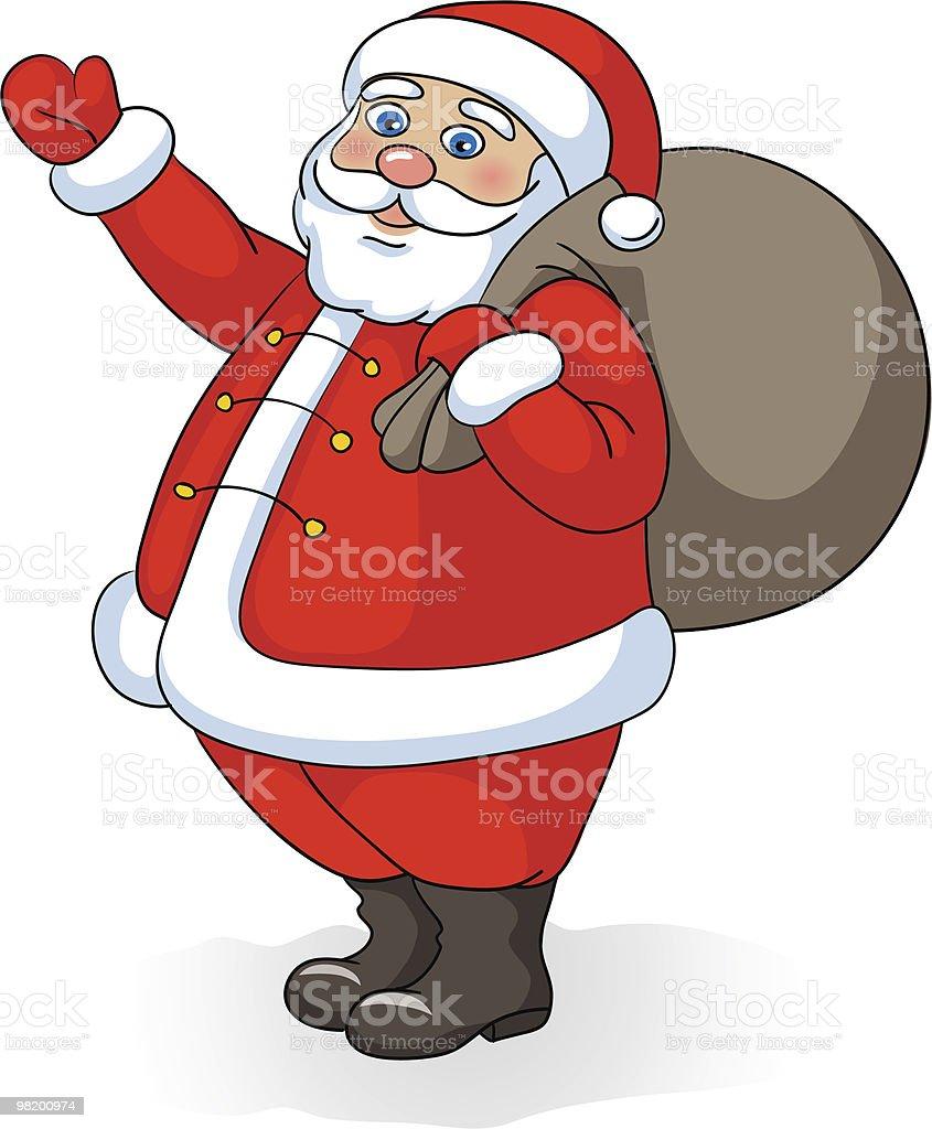 Funny vector Santa royalty-free funny vector santa stock vector art & more images of adult