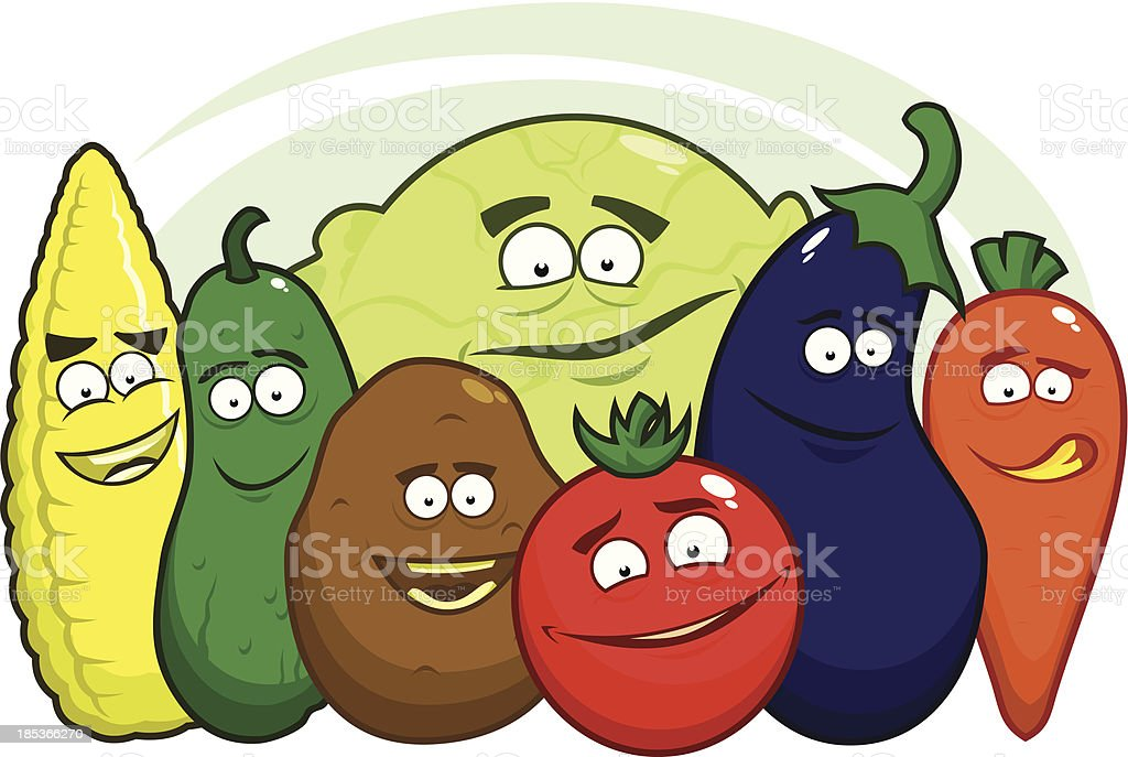 Funny vegetables royalty-free funny vegetables stock vector art & more images of agriculture