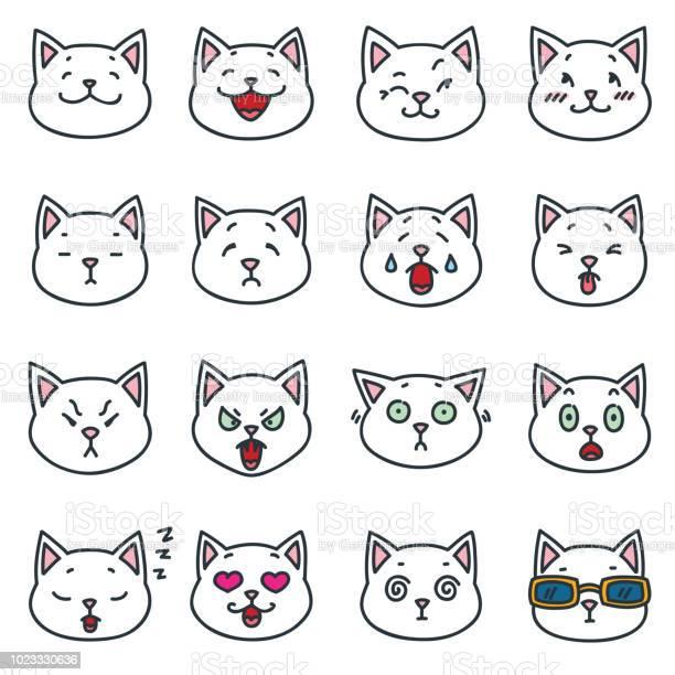 Funny white cat faces vector id1023330636?b=1&k=6&m=1023330636&s=612x612&h=ovxpub2fhaxstqsvcqsqz96rpb0fkuifu2cmuwtzbi0=
