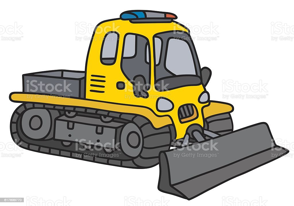 royalty free snow plow truck clip art vector images illustrations rh istockphoto com plowing snow clipart snow plow clipart free