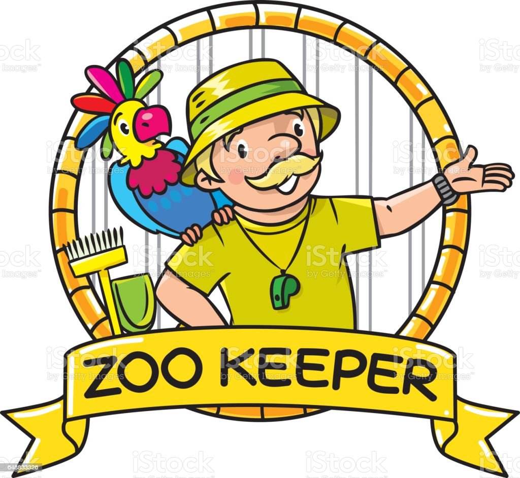 royalty free zoo keeper clip art vector images illustrations istock rh istockphoto com clip art zoo animals black and white clip art zoo pictures