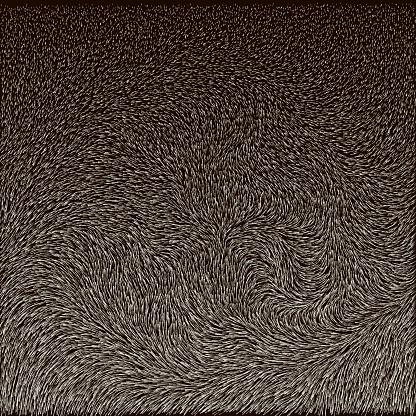Fur of reindeer. Vector texture