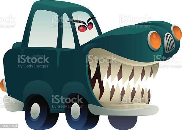 Furious Car-vektorgrafik och fler bilder på Aggression