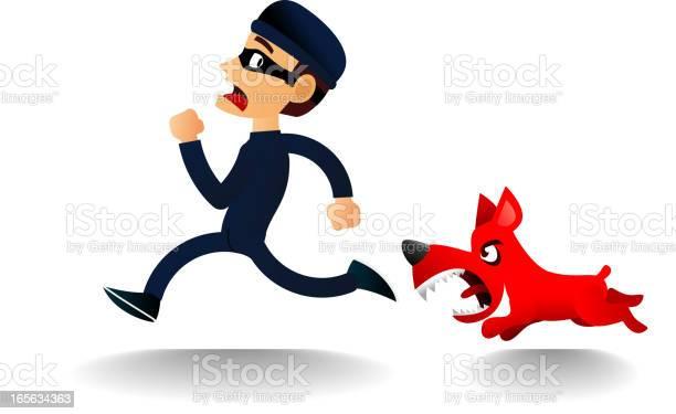 Furious dog chasing scared thief vector id165634363?b=1&k=6&m=165634363&s=612x612&h=vmabbfwyfklx0fh5zjsarku8qat4ruwpcp3cxugdrcc=