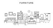 Furniture and home decoration.