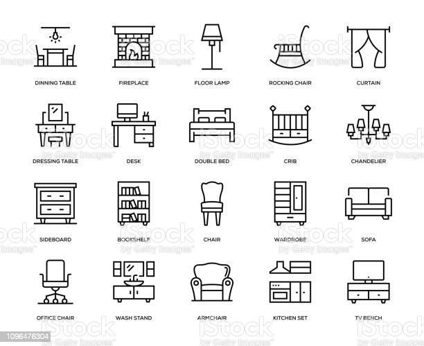 Furniture icon set vector id1096476304?b=1&k=6&m=1096476304&s=612x612&h=phz8nwymvhrcth9hzc2q  6rezly8rafxwaq3ncd0de=
