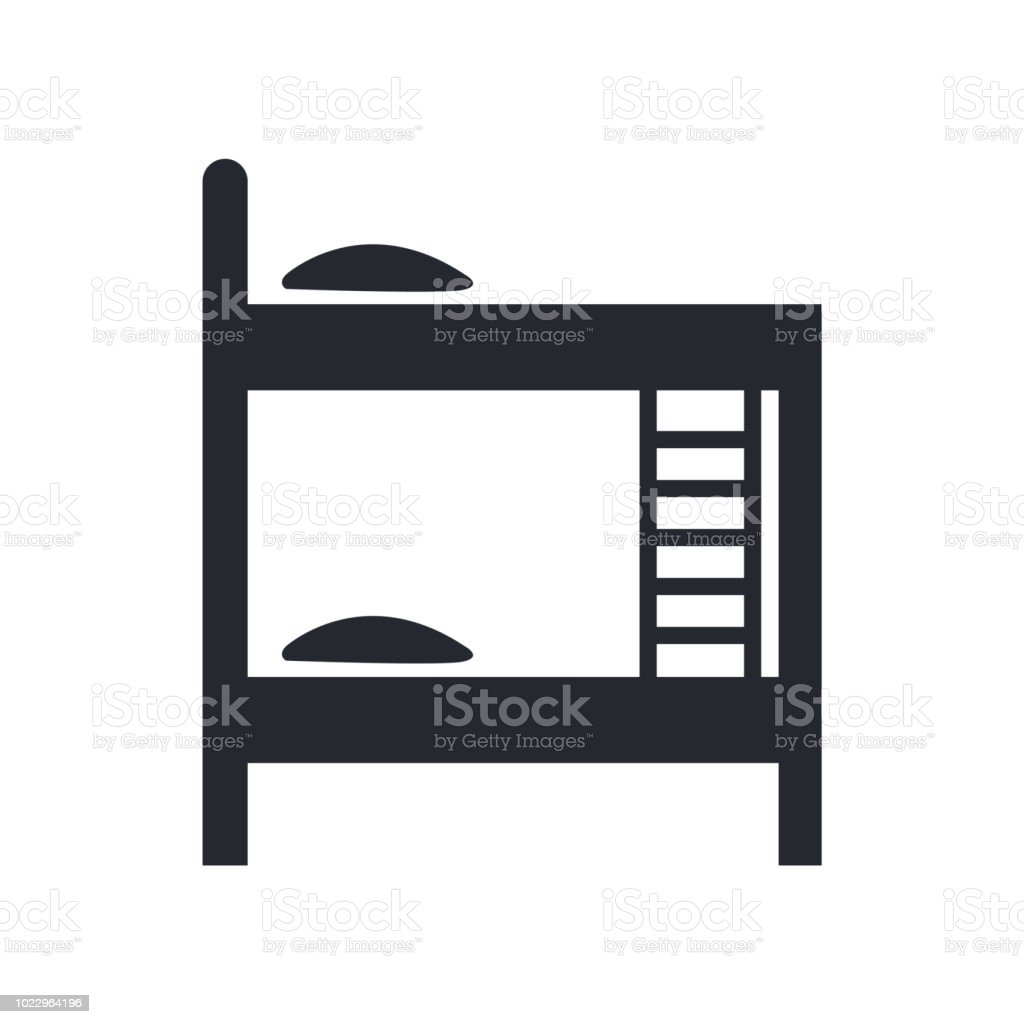 Furniture Icon Vector Sign And Symbol Isolated On White Background