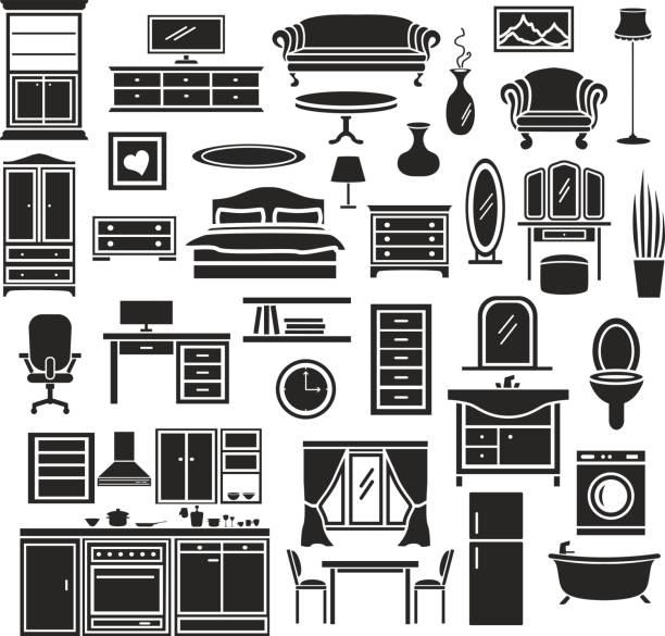 Kitchen Drawer Clip Art: Top 60 Kitchen Cabinet Clip Art, Vector Graphics And