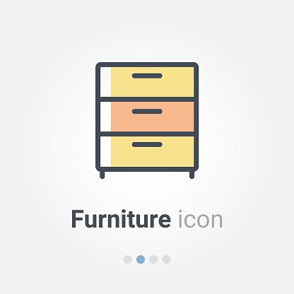 furniture vector icon