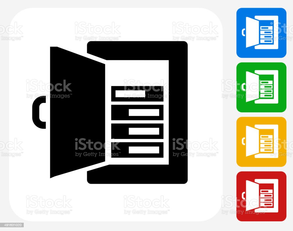 royalty free fuse box clip art, vector images \u0026 illustrations istockfuse amps icon flat graphic design vector art illustration