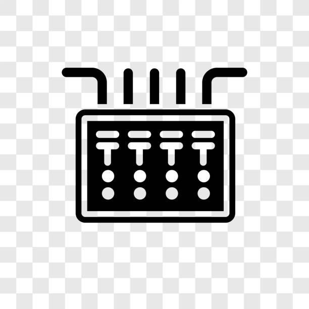 best circuit breaker illustrations royalty free vector. Black Bedroom Furniture Sets. Home Design Ideas