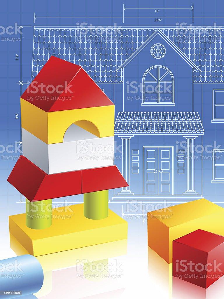 Будущие Архитектор - Векторная графика Архитектура роялти-фри