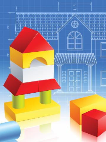 Будущие Архитектор — стоковая векторная графика и другие изображения на тему Архитектура