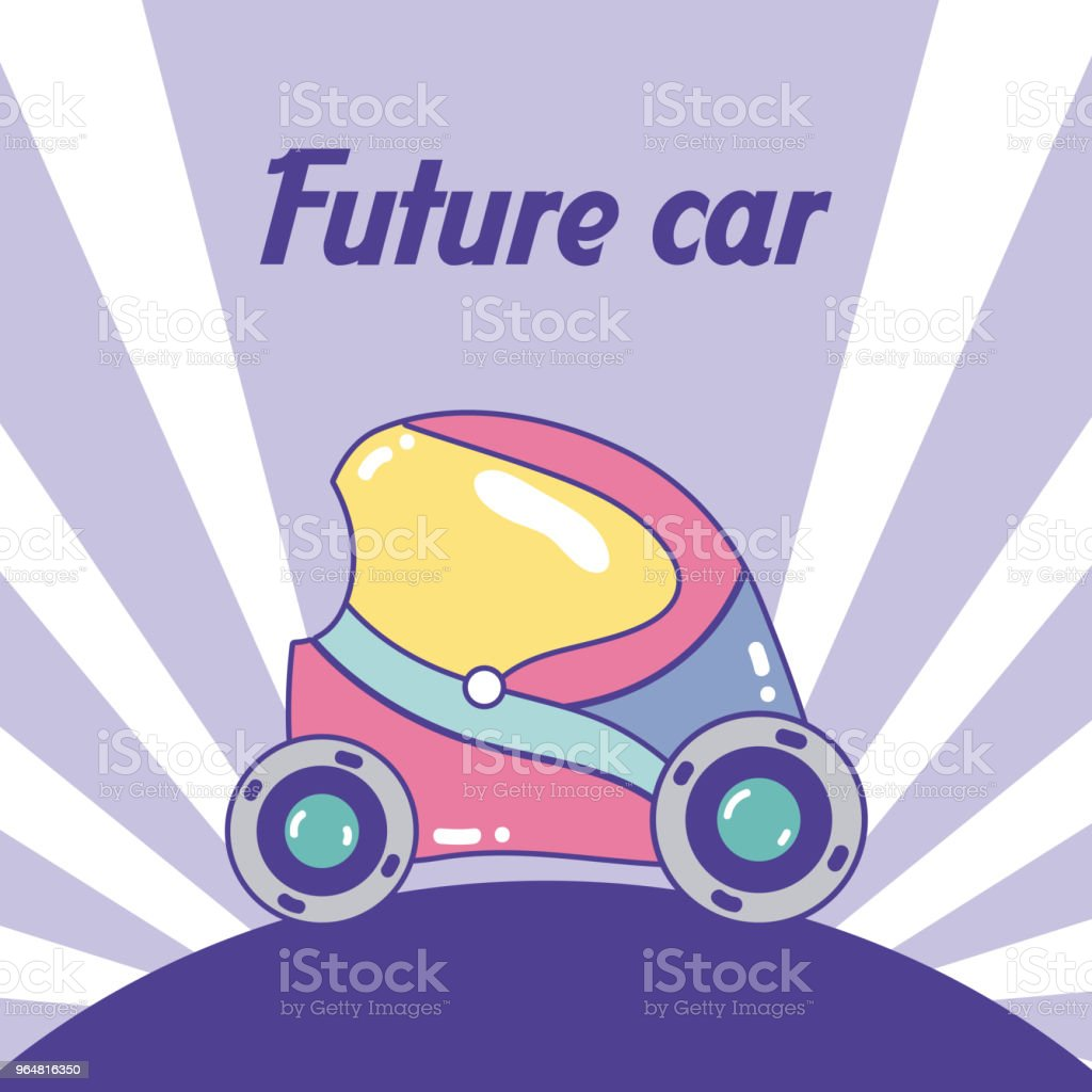 Future car cartoon concept royalty-free future car cartoon concept stock vector art & more images of above